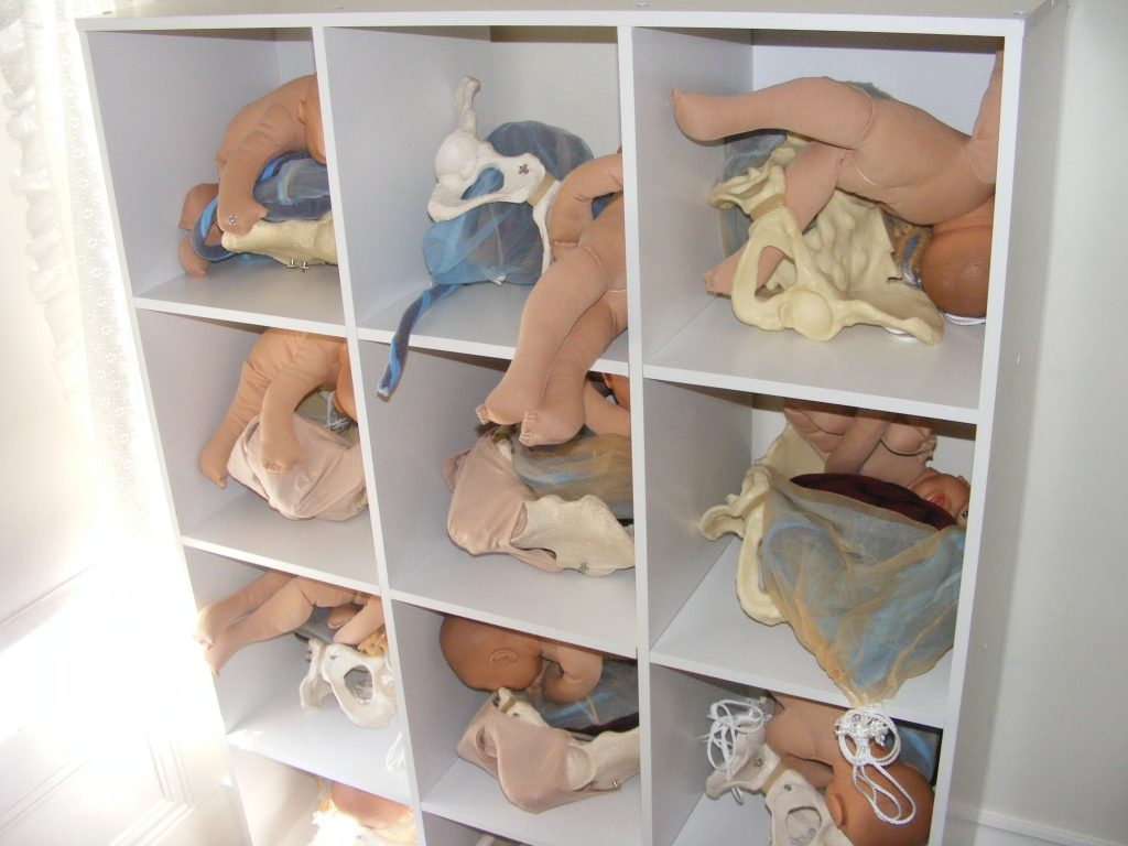 midwifery supplies used by Advanced Status students